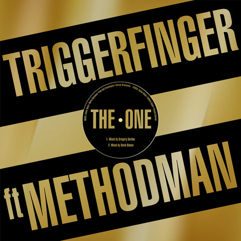 """The One"" - Triggerfinger feat. Method Man (12"" Vinyl Single)"