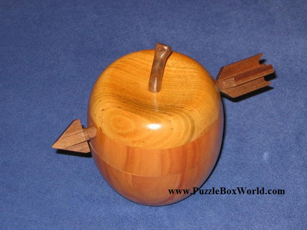 Apple 2 Japanese Puzzle Box by Akio Kamei