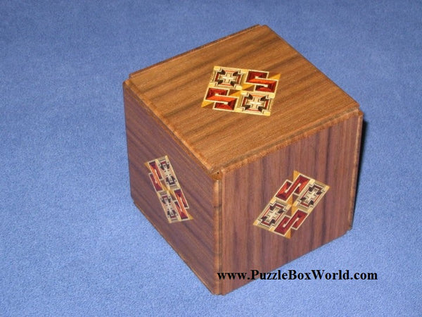 Kamei New Secret Japanese Puzzle Box #1 A