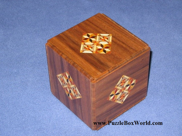 Kamei New Secret Japanese Puzzle Box #2 A
