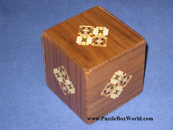 Kamei New Secret Japanese Puzzle Box #3 A