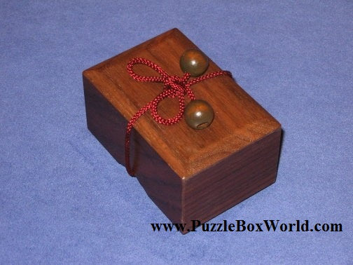 String Box 2 Japanese Puzzle Box by Akio Kamei