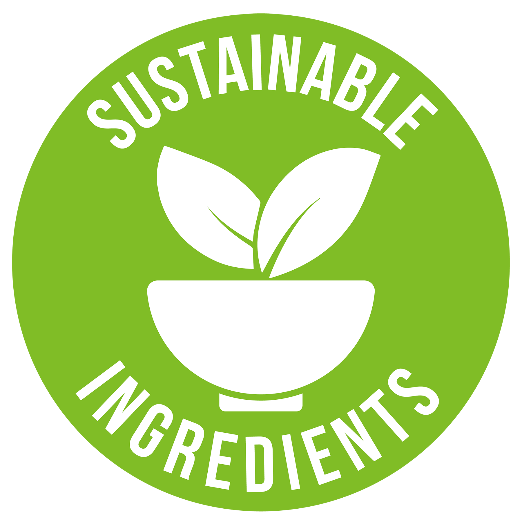 Sustainable Ingredients logo