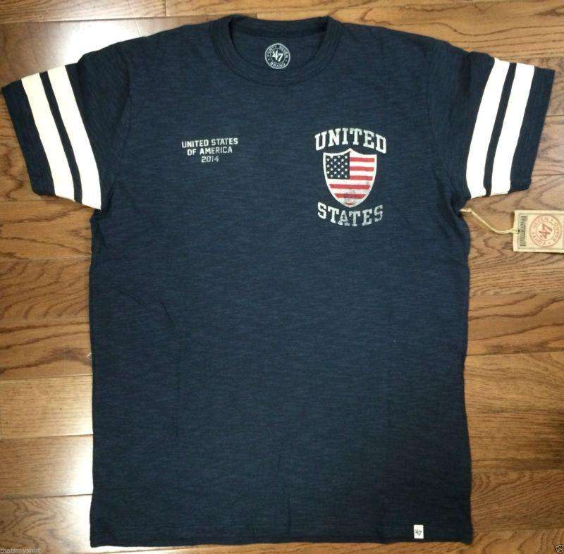 47 Brand Mens World Cup United States Ballgame Tee Shirt