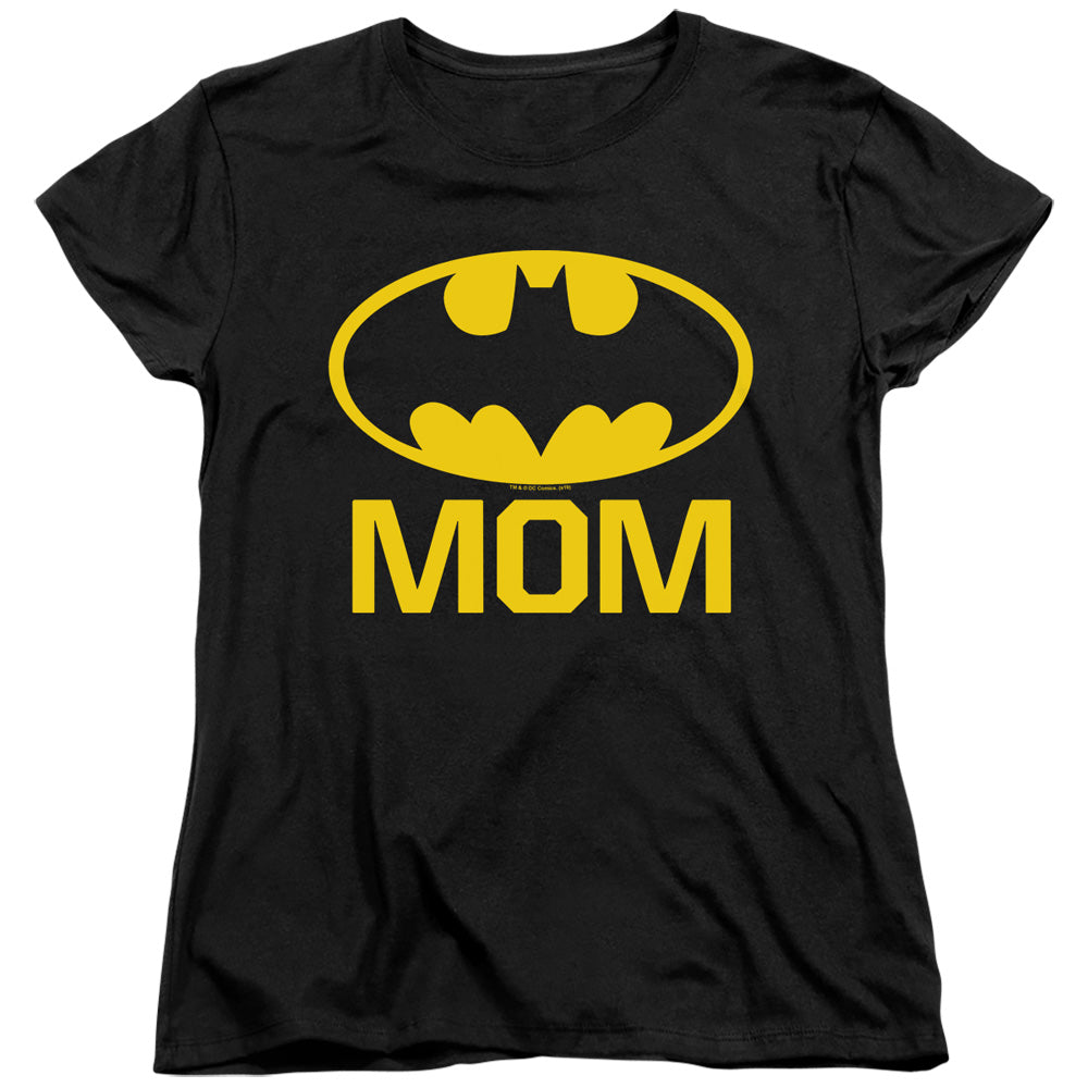 Womens Batman Bat Mom T-Shirt