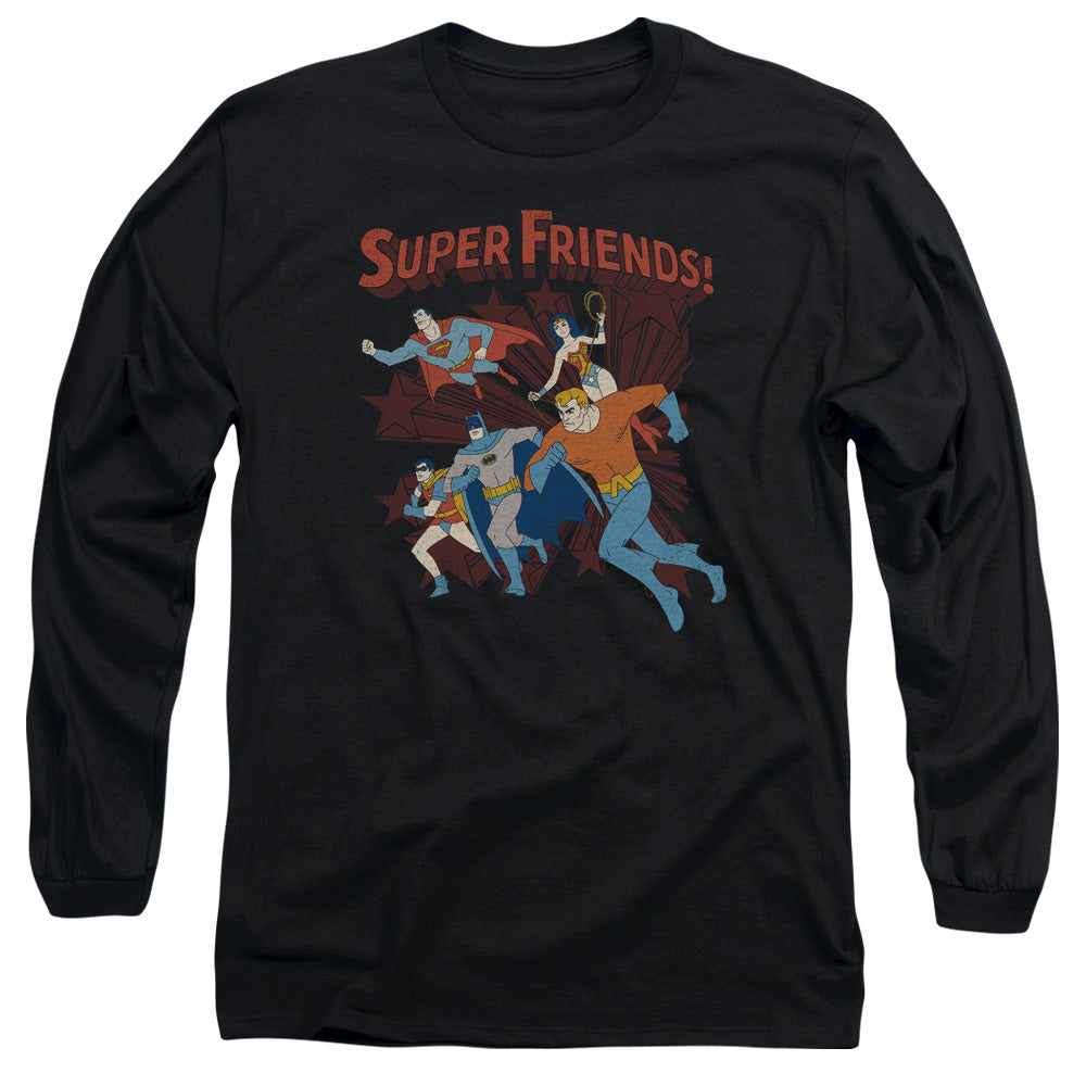 Super Friends Super Running Long Sleeve Tee