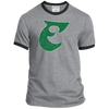 Old School Philly Football Big E Ringer Tee