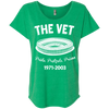 The Vet Football Edition Ladies' Triblend Dolman Sleeve