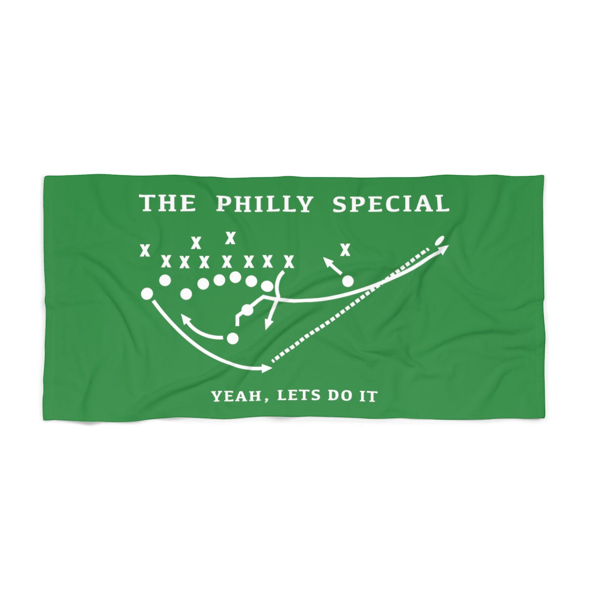 The Philly Special Commemorative Beach Towel