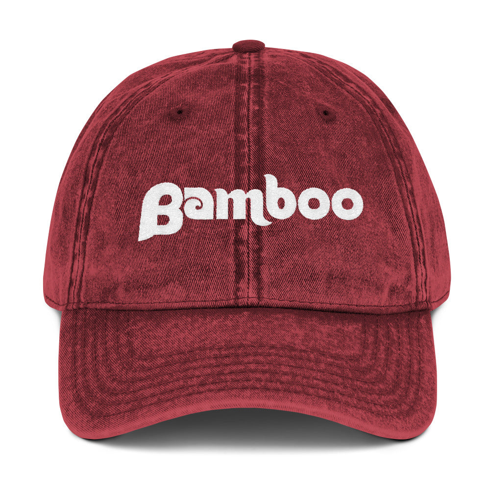 Philly Bamboo Vintage Cotton Twill Cap
