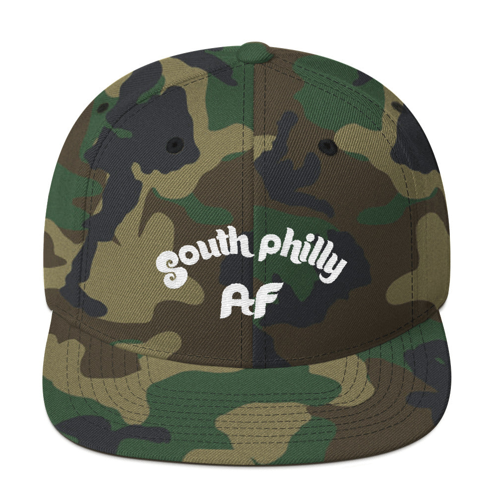 South Philly AF Embroidered Snapback Hat