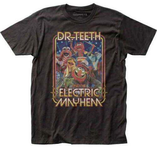 Mens The Muppets Dr. Teeth Electric Mayhem Band Tee Shirt