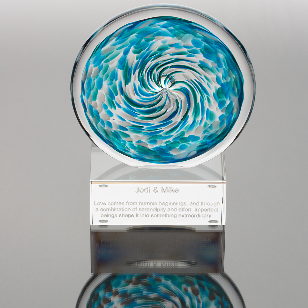 Unity in Glass Engraved Aurora Package