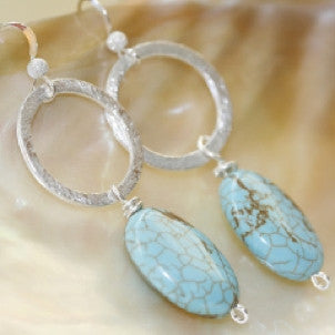 Central Park Turquoise Earrings