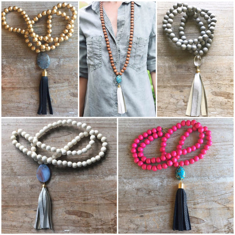 Day 9 - Tassel Necklaces!