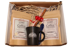Label Reader's Coffee Creamer Holiday Gift Box