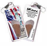 New York City FootWhere® Souvenir Zipper-Pull. Made in USA - FootWhere® Souvenirs