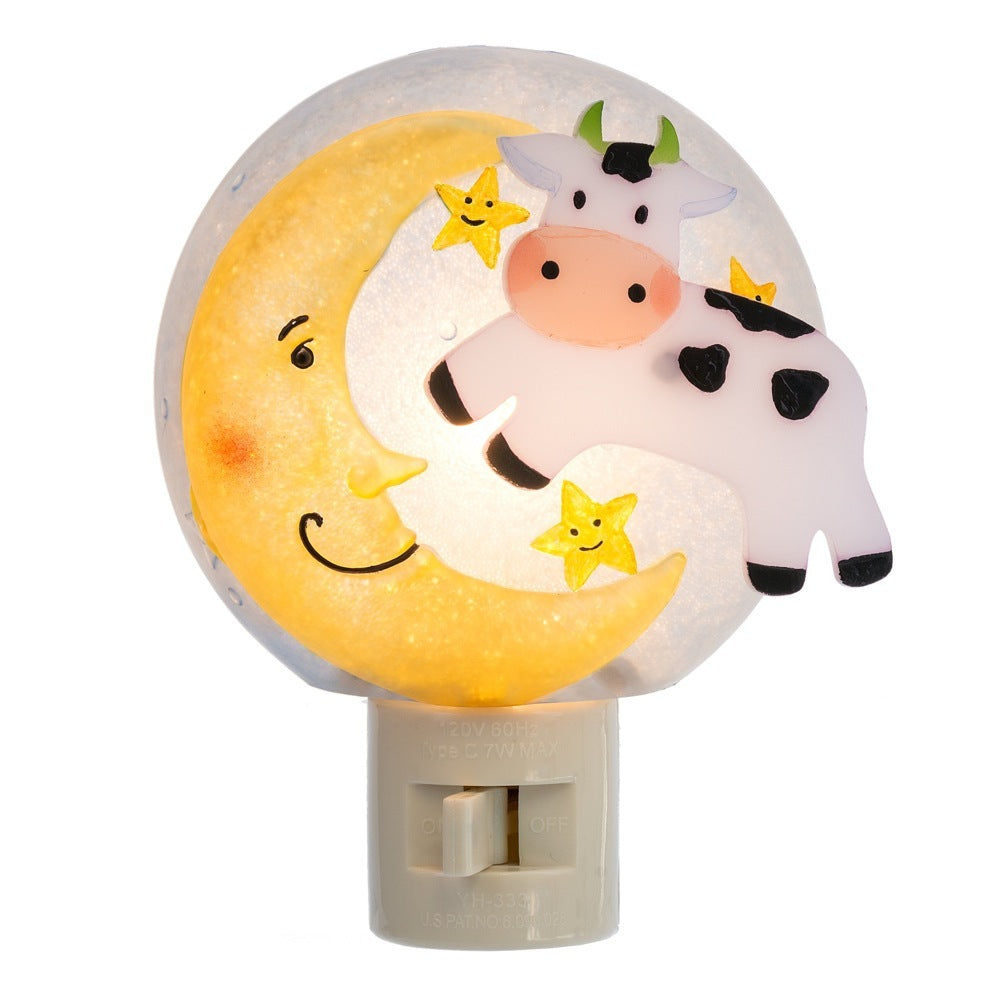 """Cow Jumped Over the Moon"" Night Light"