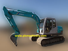 R03.  SK100-V EXCAVATOR FOR RENT SINGAPORE KOBELCO WITH LOAD INDICATOR & LM CERTIFICATE & BREAKER PIPING