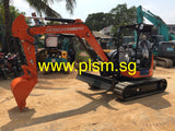 Mini Excavators For Rent Singapore Rental Hitachi ZX55-5A www.plsm.sg ZX33-5A ZX38-5A