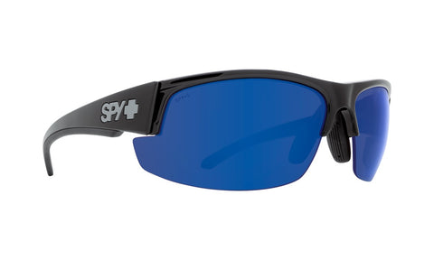 Spy - Sprinter Black Ansi Rx Sunglasses / Happy Bronze Polarized + Dark Blue Spectra Lenses