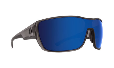 Spy - Tron 2 Matte Smoke Sunglasses / Happy Bronze + Dark Blue Spectra Lenses