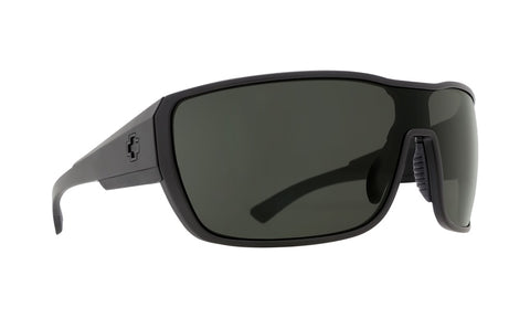 Spy - Tron 2 Matte Black Sunglasses / Happy Gray Green Lenses