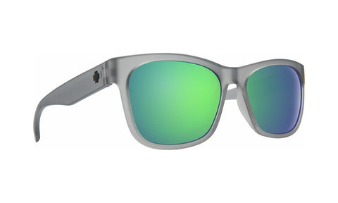 Spy - Sundowner Matte Translucent Smoke Sunglasses / Gray + Green Spectra Lenses