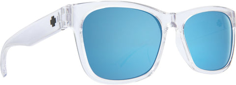 Spy - Sundowner Crystal Sunglasses / Gray + Dark Blue Spectra Lenses