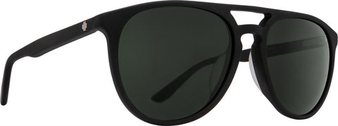 Spy - Syndicate Matte Black Sunglasses / Happy Gray Green Lenses