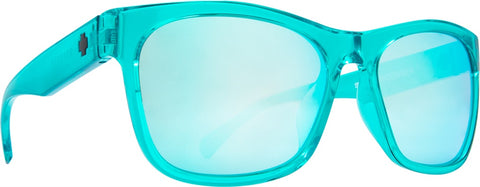 Spy - Sundowner Emerald Sunglasses / Gray + Turquoise Mirror Lenses