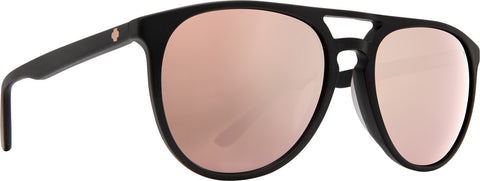 Spy - Syndicate Matte Black Sunglasses / Happy Bronze + Rose Quartz Spectra Lenses