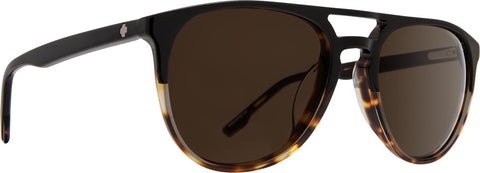 Spy - Syndicate Black + Tortoise Sunglasses / Happy Bronze Polarized Lenses