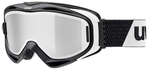 UVEX Sport - G. GL 300 TO Black White Snow Goggles / Silver Mirror Lenses