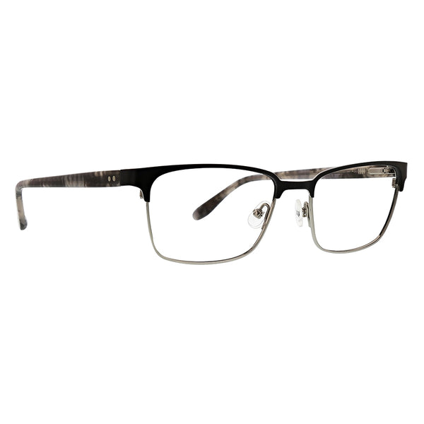Badgley Mischka - Victor 55mm Black Eyeglasses / Demo Lenses