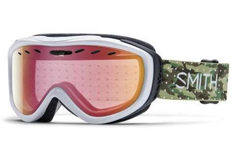 Smith Cadence Dot Camo Goggles, Red Sensor Mirror Lenses