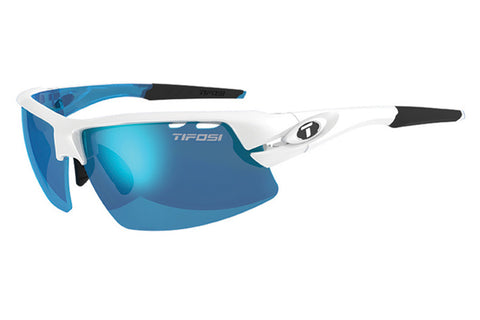 Tifosi - Crit Skycloud Sunglasses, Interchangeable AC Red / Clarion Blue / Clear Lenses
