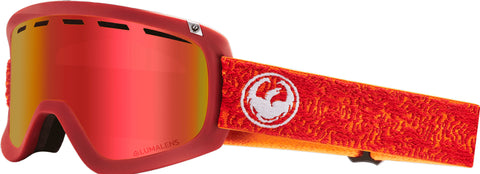 Dragon - D1 OTG Maze Snow Goggles / Red Ion + Rose Lenses
