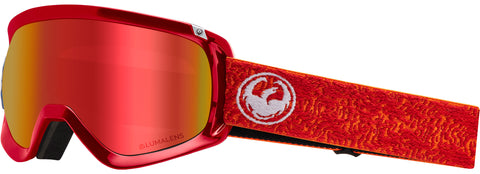 Dragon - D3 OTG Maze Snow Goggles / Red Ion + Rose Lenses