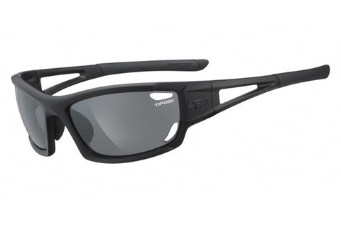 Tifosi - Dolomite 2.0 Matte Black Sunglasses, Interchangeable AC Red / Clear / Smoke Lenses