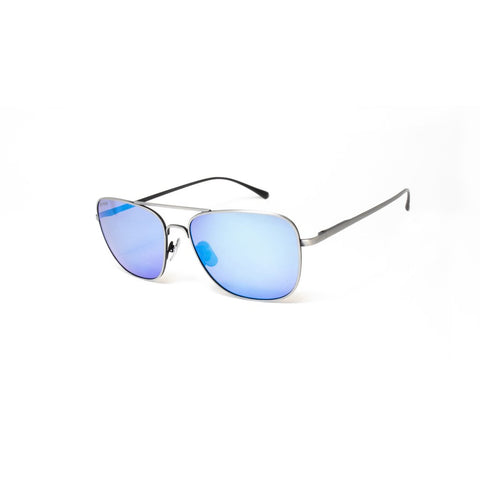 Peppers - Eastbound Black Sunglasses / Blue Mirror Polarized Lenses