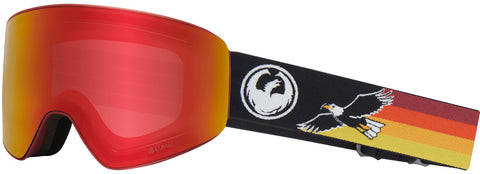 Dragon - PXV Eagle Snow Goggles / Red Ion & Amber Lenses