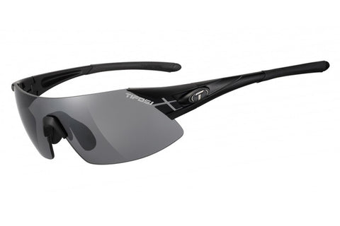 Tifosi - Podium XC Matte Black Sunglasses, Interchangeable AC Red / Clear / Smoke Lenses