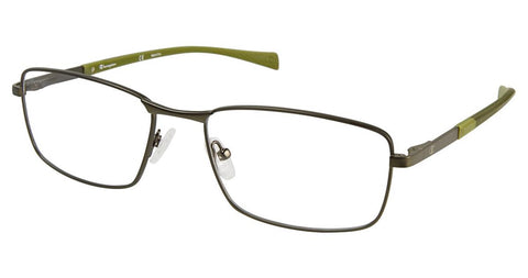 Champion - 4011 58mm Darkest Green Eyeglasses / Demo Lenses