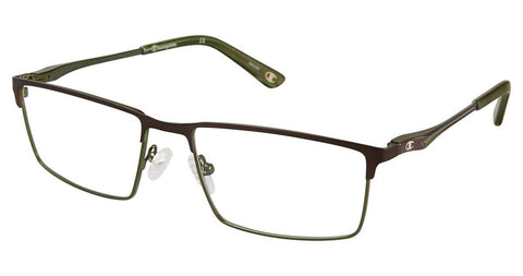 Champion - 4010 58mm Brown Green Eyeglasses / Demo Lenses