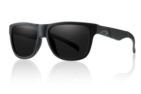 Smith - Lowdown Slim Impossibly Black Sunglasses, Blackout Lenses