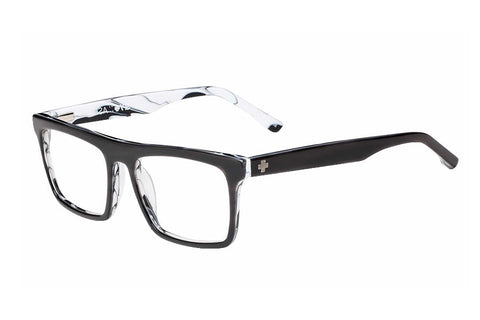 Spy Asher Black/Horn Rx Glasses