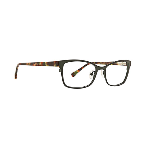 Trina Turk - Gal 51mm Green Eyeglasses / Demo Lenses