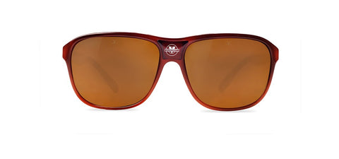 Vuarnet - Legend 03 Gradient Brown Sunglasses / Brown Polarized Lenses