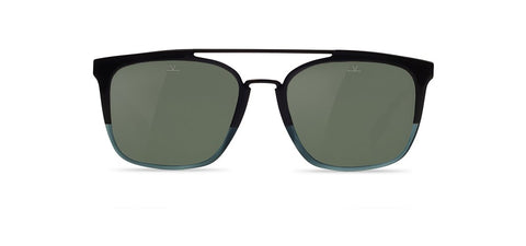 Vuarnet - Cup 1521 Grey Blue Matte Gunmetal Sunglasses / Grey Polarized Lenses